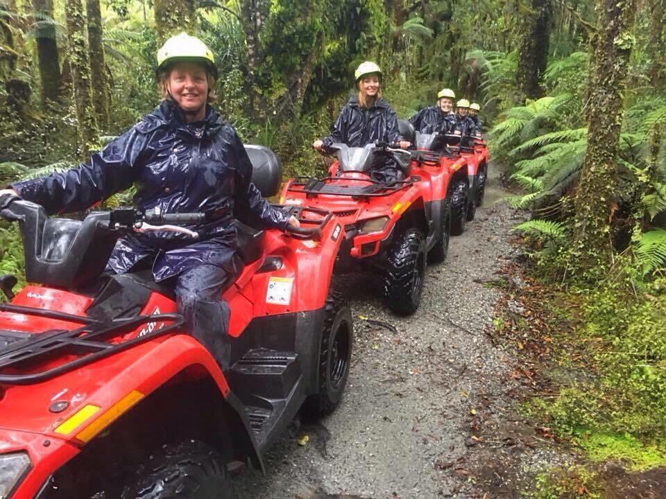 #TravelDay385 – Quad Biking in Franz Josef