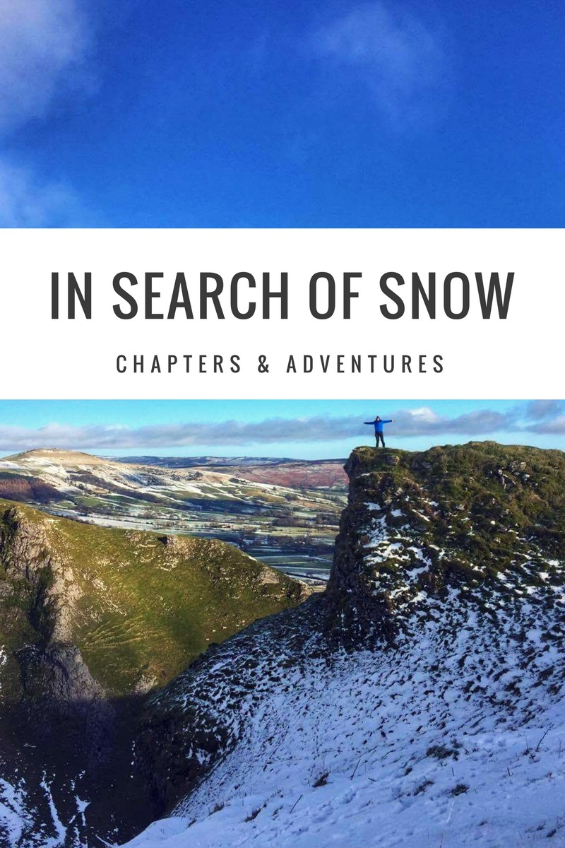 In Search of Snow : Mam Tor and Winnats Pass